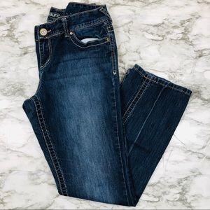 Maurices Blue Denim Boot -Cut Jeans Size 11/12
